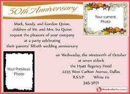 Formal Dinner Invitation Sample Adorable Sample Invitation Letter For Wedding Anniversary