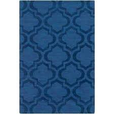 navy blue and cream area rugs central the home depot artistic weavers compressed
