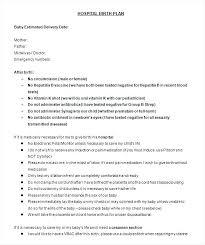 My Birth Plan Template Free Birth Plan Template Visual Generator Entrerocks Co