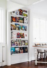 Ikea Ribba ledges for cookbook display
