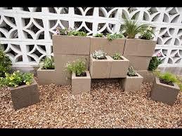 how to build a cinder block garden wall