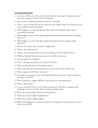 interview questions accounting interview questions