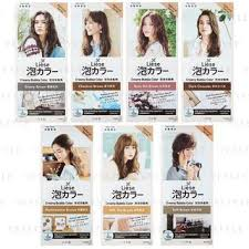 Liese Color Chart Liese Creamy Bubble Hair Color Natural 7 Types