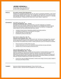 Resume Objective For Banking Good Resume Format