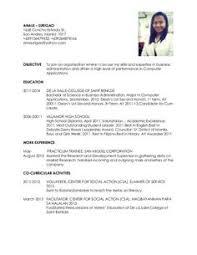 Business Administration Resume Samples Sample Resumes Resume