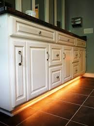 Under cabinet lighting diy Kitchen Cabinets Love This Rope Lights Under Bathroom Cabinet Or Other Random Place For Nightime Lighting Pinterest Add Under Counter Glow On The Cheap For The Home Pinterest