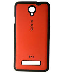 Arc Back Cover For Panasonic T41 - Red ...