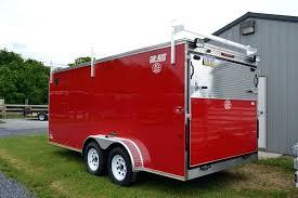 enclosed trailer rack cargo trailer shelving