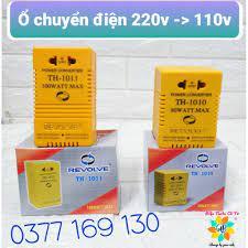 Ổ cắm chuyển điện cục chuyển điện 220v sang 110v 80/100w Revolve - Ổ cắm  điện