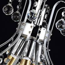 modern chrome led crystal chandelier in 3 sizes crystal chandelier lighting z82