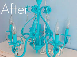 turquoise chandelier lighting. vintage uranium yellow vaseline crystal bronze turquoise blue chandelier lighting