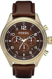 17 best images about watches analog watches brown fossil dress de5002 leather watch brown vintaged bronze fossil watch men