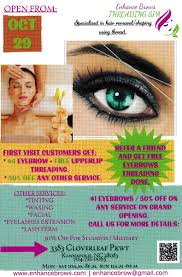 Here is how to use it—and how it'll save you money. Enhance Brows Threading Spa On Twitter Check Us Out Opening This Month Free Eyebrows Threading On Your 10th Visit