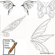 Tinkerbell Template Fairy Wing Template Go Back Pix For Tinkerbell Wings Template