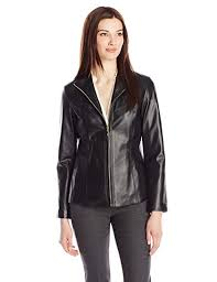 Cole Haan Jacket Size Chart Cole Haan Womens Classic Leather Jacket