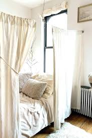 Twin Canopy Curtains Canopy Curtains Privacy Bed Canopy Curtains ...