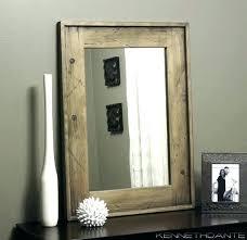 rustic wood mirror frame. Distressed Wood Mirror Rustic Framed Bathroom  Mirrors . Frame