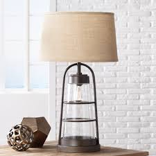 country table lamps living room lovely silver table lamp with blackade lamps for living room