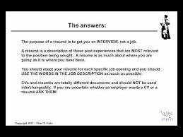 What Should Not Be Included In A Resume Putting Together Your Effective Resume