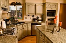painted cabinets. painted kitchen cabinets with granite gray n