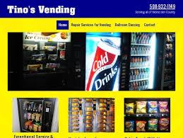 Vending Machine Repair Services Amazing Tino's Vending Repair And Service Leominster MA