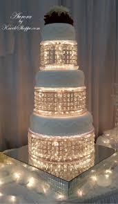 aurora chandelier cake stand