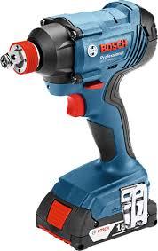 <b>Bosch</b> Professional, Impact Driver, Cordless, <b>GDX 180</b>-<b>LI</b>, 2 x 3Ah ...