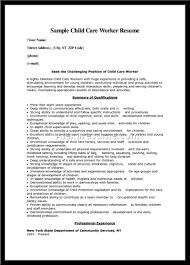 Cover Letter Child Caregiver Resume Child Caregiver Resume