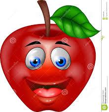 Dessin Anim Rouge De Pomme Illustration De Vecteur Image 26989482