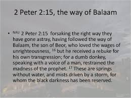 Image result for the ways of balaam
