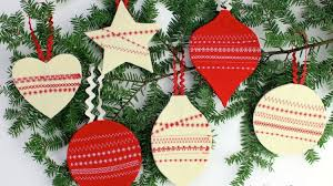 Work On These Now Start Sewing These 51 Simple Christmas Ornaments