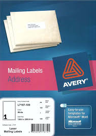 avery sheet labels avery white full sheet label l7167 100