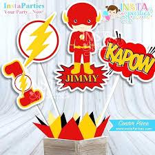 superhero birthday party supplies superman centerpieces superhero centerpiece superheroes birthday party super man digital decor supplies