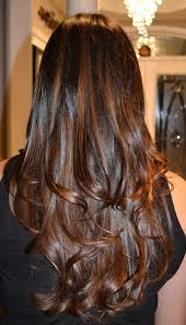 88 Dark Brown Hair With Color