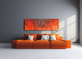 orange orangey red black white cream grey canvas art  on black and cream wall art uk with modern panoramic orangey red abstract wall art life through
