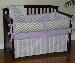 baby nursery terrific posh bedding with zig zag lavender