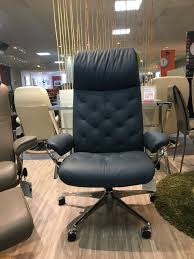 clearance office chair. Clearance - Occasional Stressless Metro High Back Office Chair C