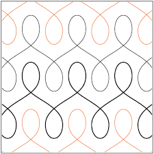 Shop Talk | ginabeanquilts | FREE MOTION QUILTING | Pinterest ... & Free Motion Quilting - Waiting for this to go on sale. I like the way the  rows merge. There is a skinnier and a fatter loop but this one is perfect  ... Adamdwight.com