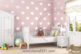 white polka dot wall decals accent walls on kid decor home and vinyls
