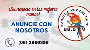 Radio La Voz del Napo 88.5 FM | Facebook