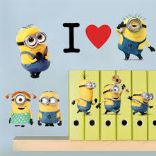 Minions Bedroom Wallpaper Compare Prices On 3d Cartoon Wallpaper Minion Online Shopping Buy
