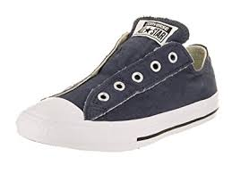 converse for kids. converse kids chuck taylor all star slip ox navy basketball shoe 3 us for