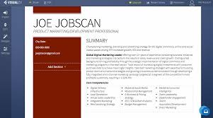 Resumes Resume Builder Builders Image Jobscan Software Offline