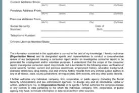 Background Check Release Form » Background Check All