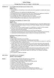Sales Consultant Senior Sales Consultant Resume Samples Velvet Jobs