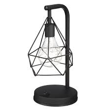 Diamond Shape Pvc Led Night Light Modern Table Bedroom Home Indoor