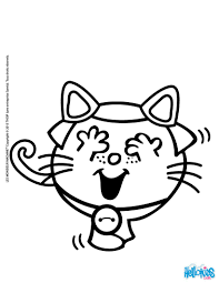 Small Picture Little miss black cat coloring pages Hellokidscom