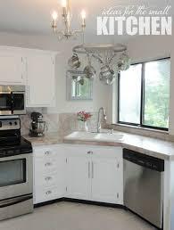 Corner Kitchen Sink Ideas For Best Cooking Experience CORNER Gorgeous Kitchen Designs With Corner Sinks