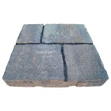 four cobble allegheny patio stone common 16 in x 16 in