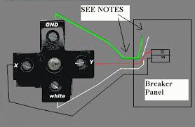 wiring diagram instructions com dryer receptacle circuit